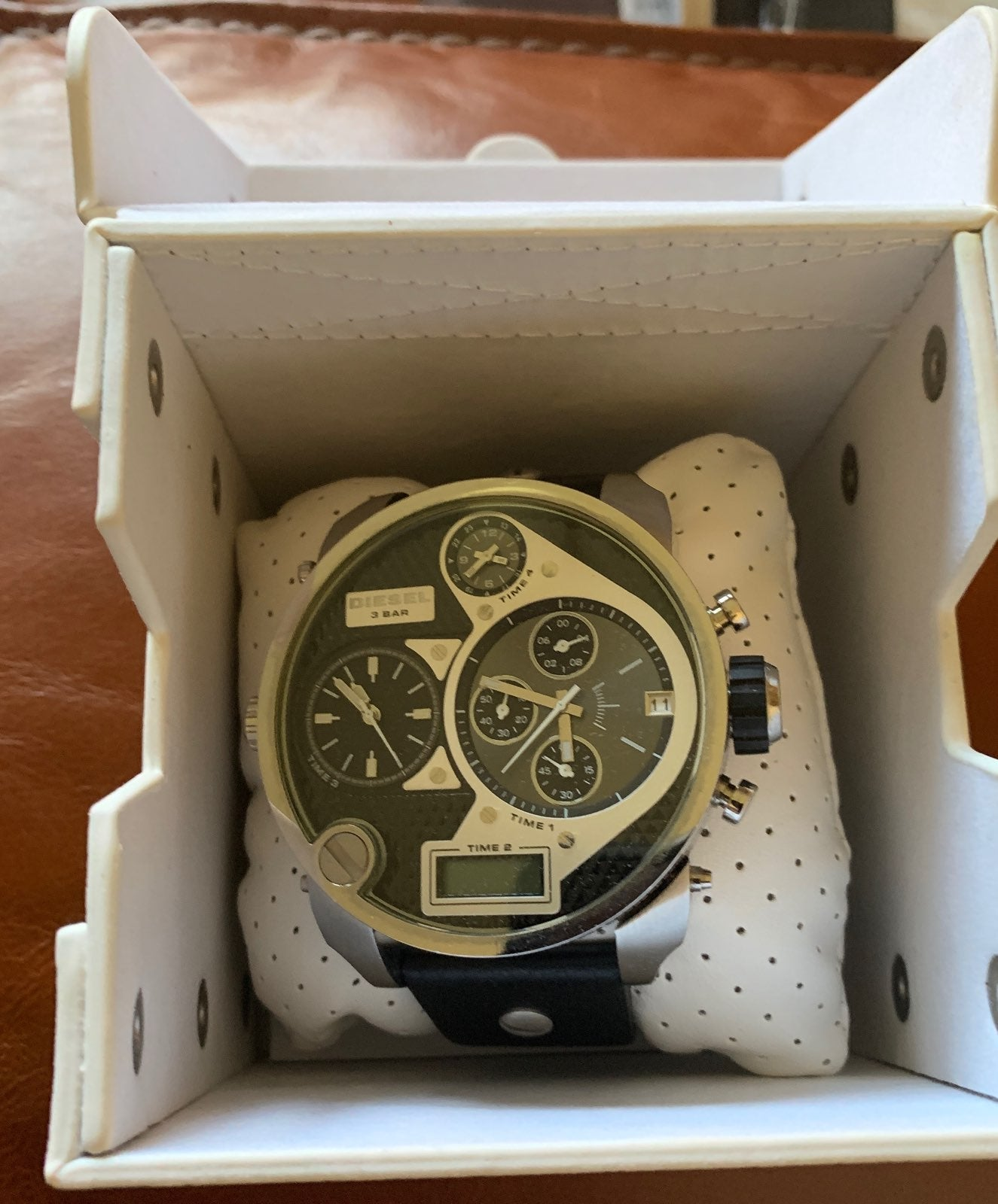Diesel large men watch