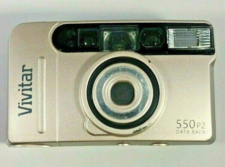 Vivitar 550 PZ Data Back Film Camera