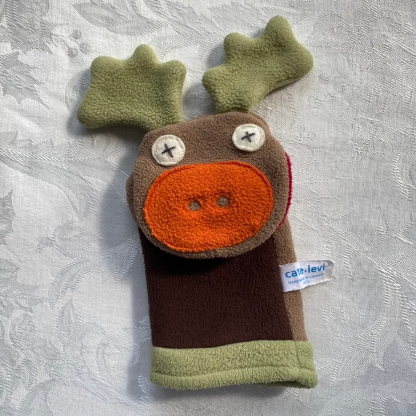Cate & Levi Moose Hand Puppet
