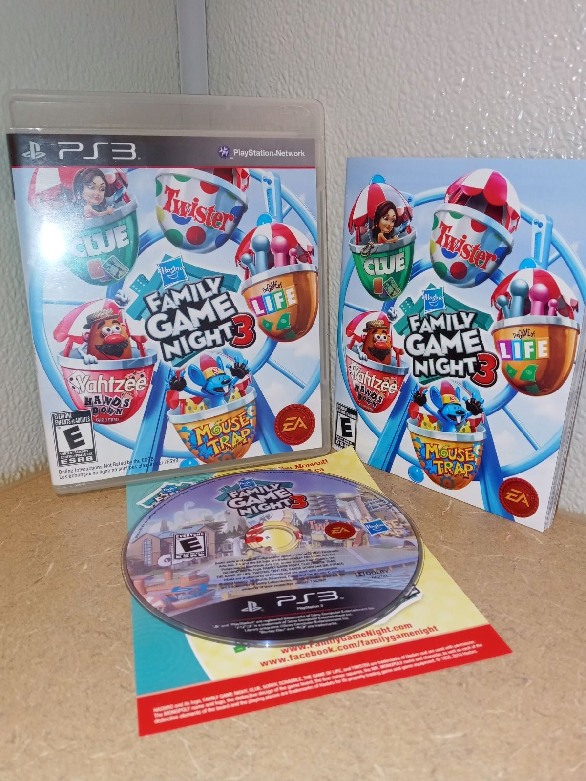 "Playstation 3, ""Family Game Night 3"""