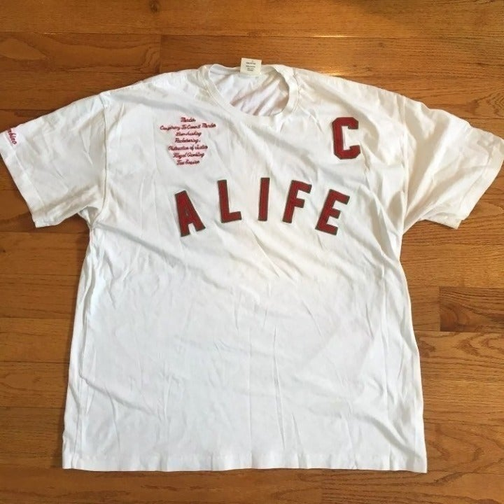 ALIFE shirt NEW YORK TEFLON DON