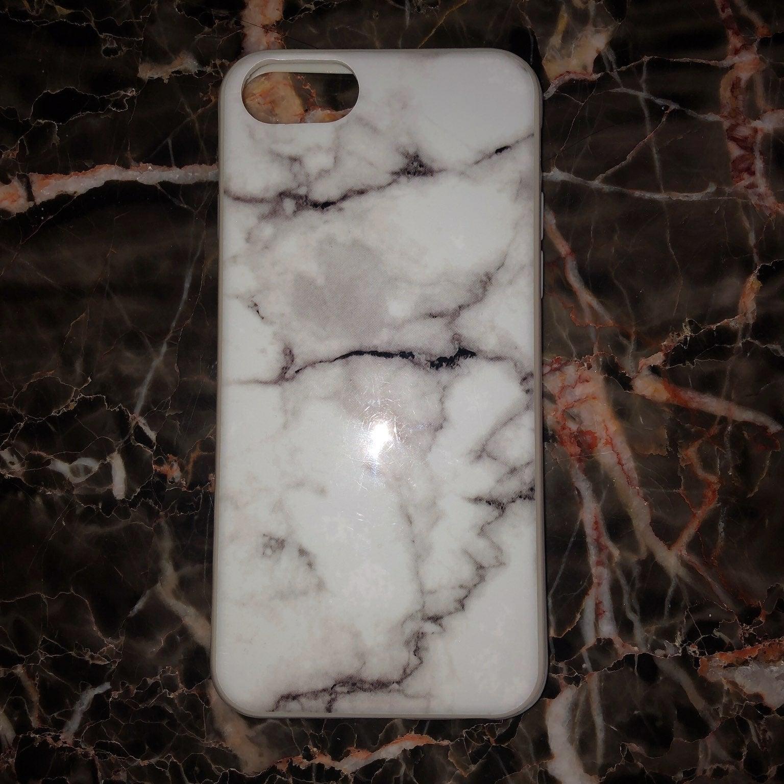 marble bumper iphone 6/7/8 case