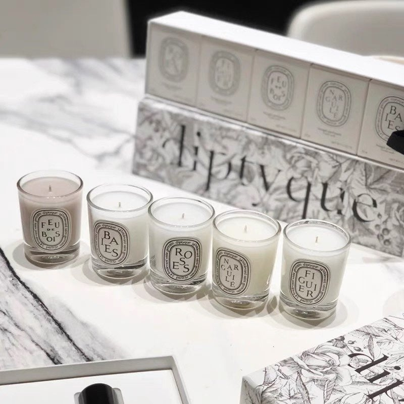 NIB DIPTYQUE mini candles set 5 x 35g