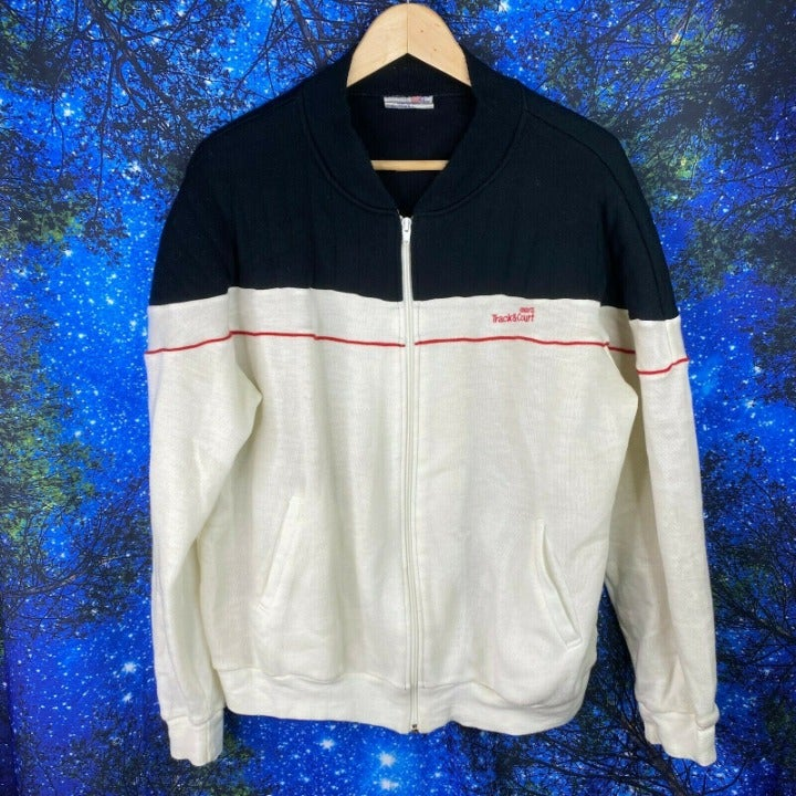 Vintage Track And Court Jacket sz M 80s
