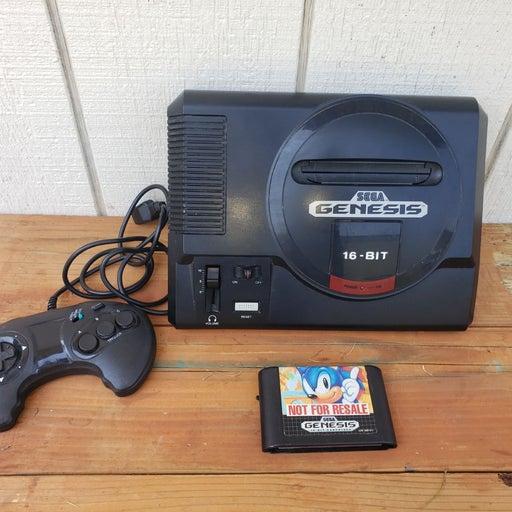 Sega Genesis 1 console