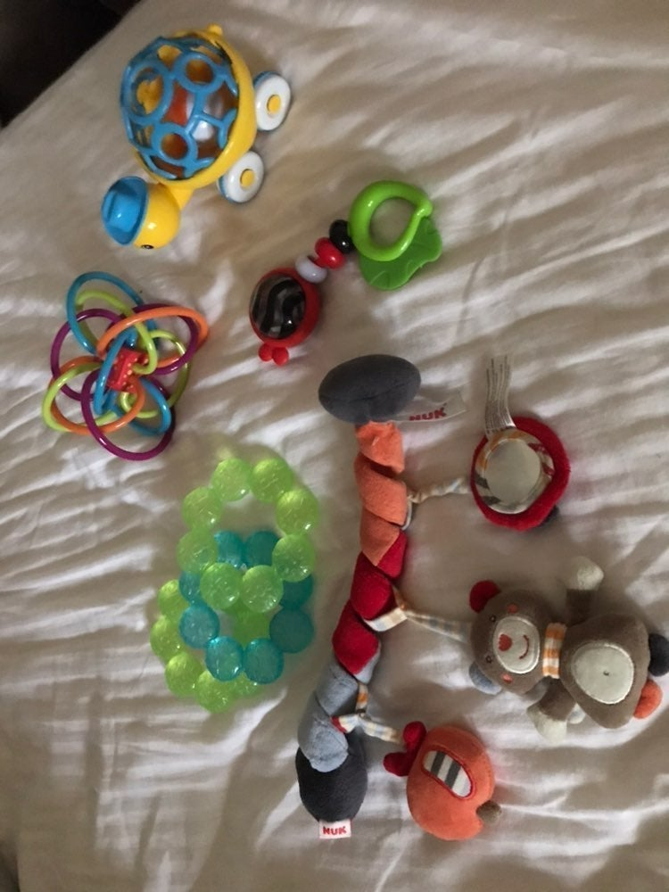 Baby toys and teether
