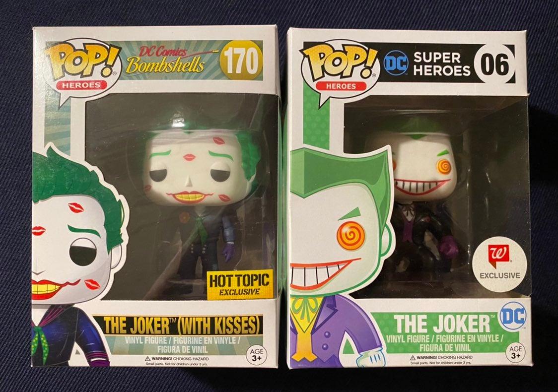 Funko Pop Joker 06 Walgreens 170 Hot top