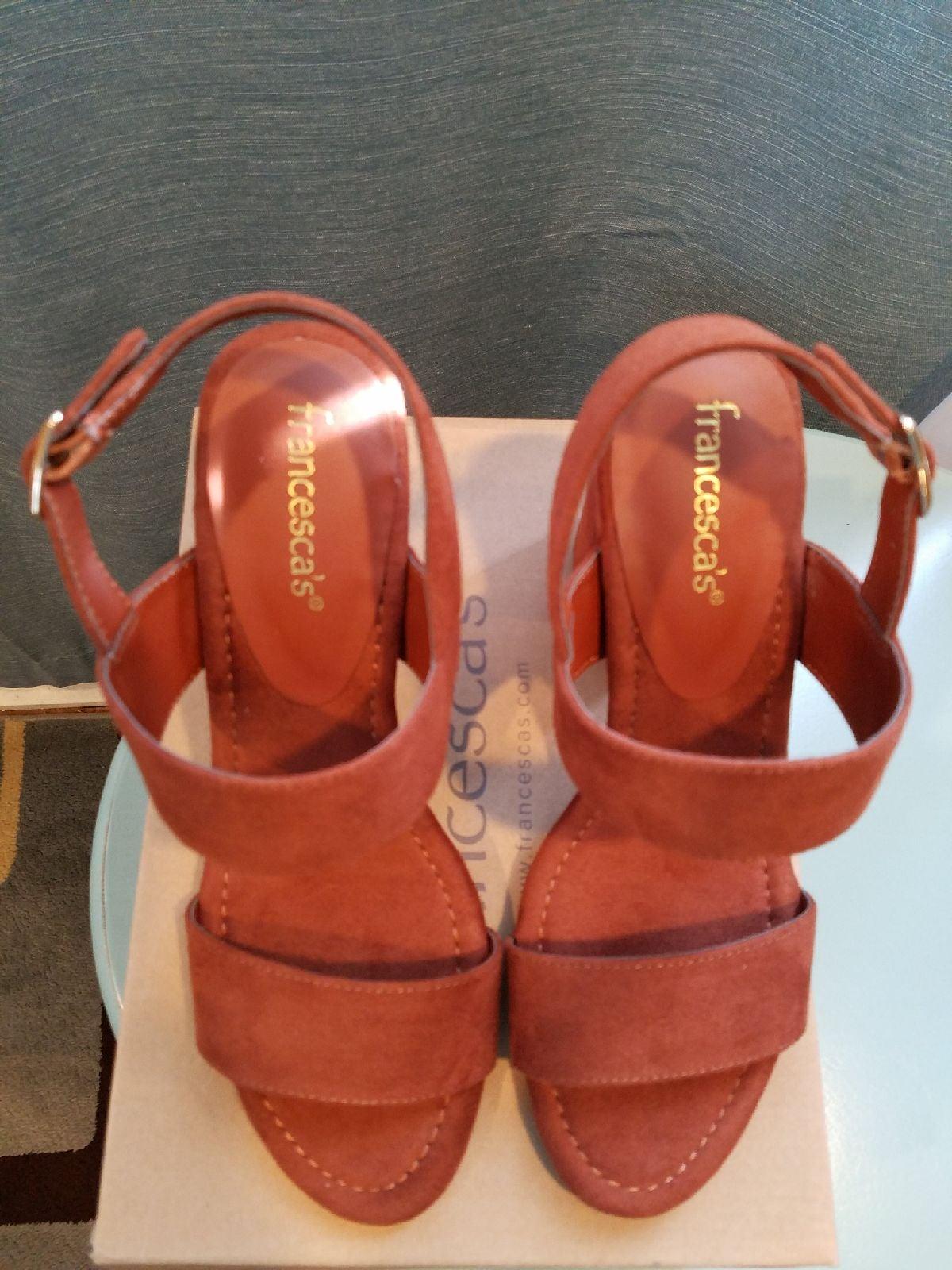 Francesca's Suede Sandals