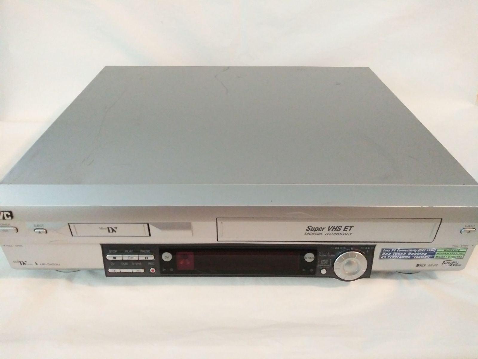JVC HR-DVS3U MiniDV Super S-VHS ET Digip