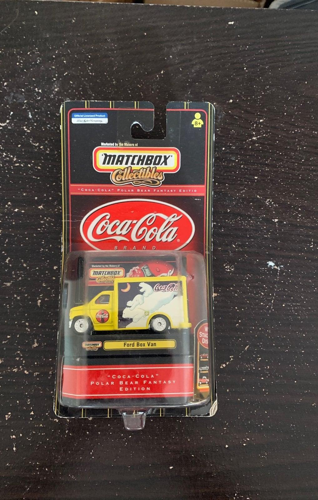 MATCHBOX COCA-COLA FORD BOX VAN