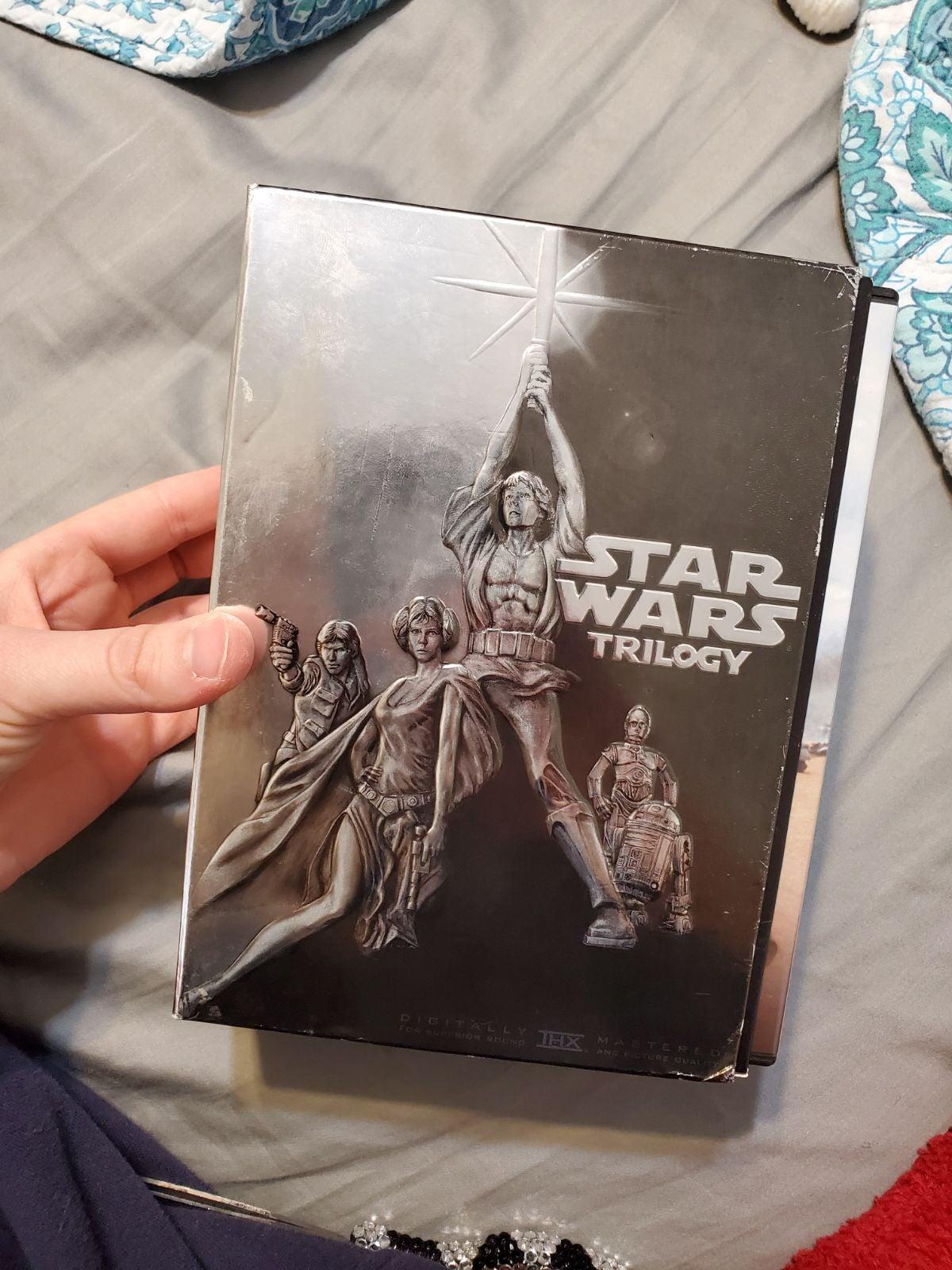 Star Wars Trilogy DVD set