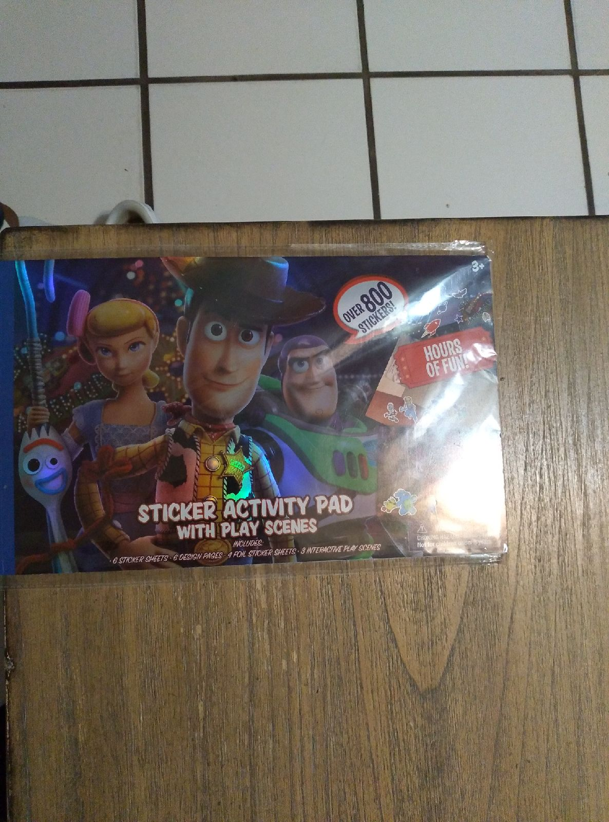 Toy Story 4  800 Stickers