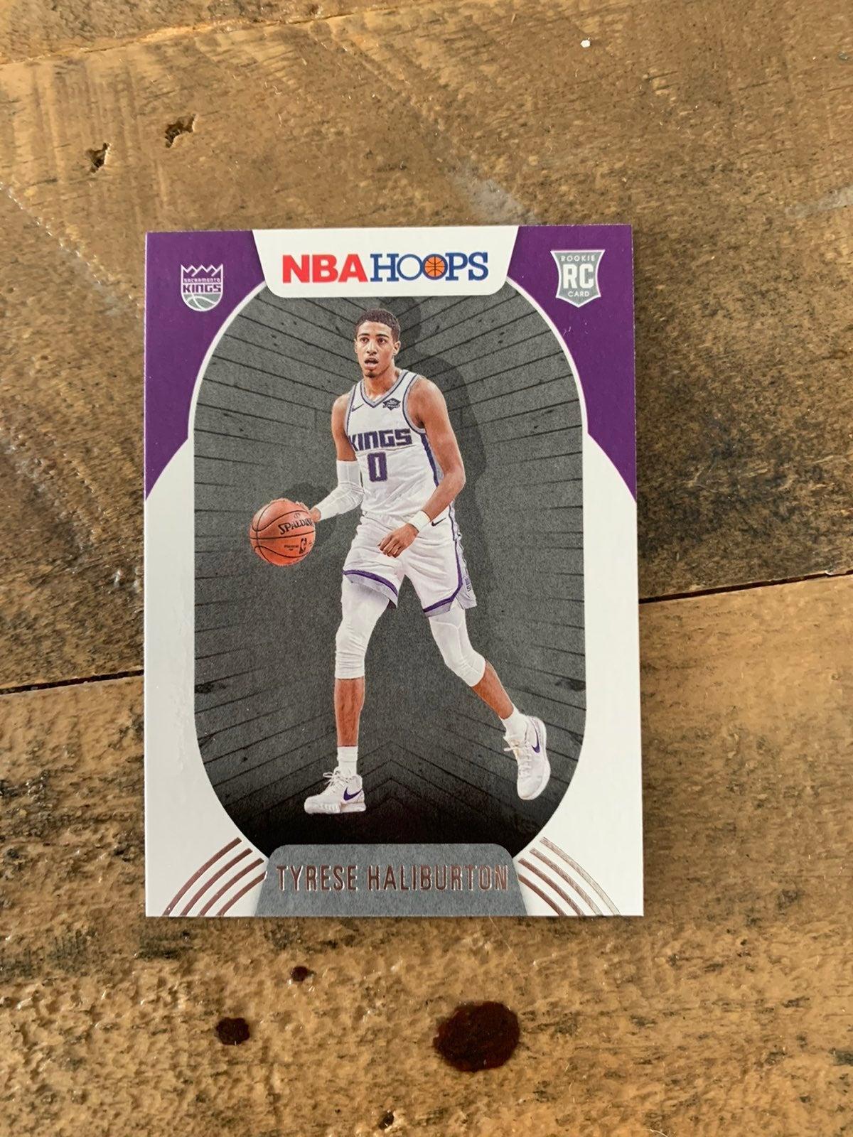 Tyrese Haliburton NBA rookie card
