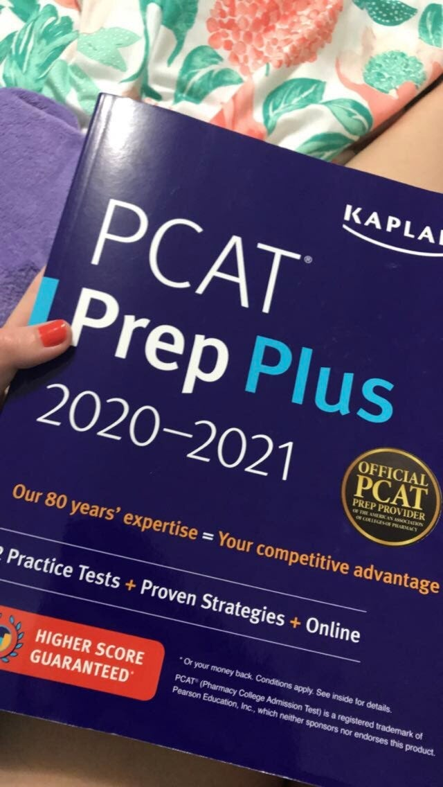 PCAT current year 2020-21 book