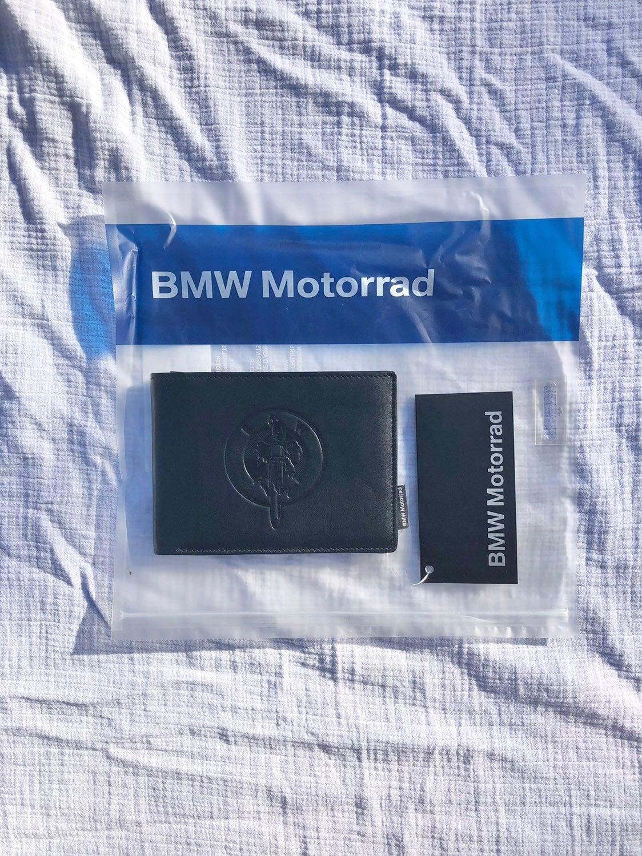 BMW Motorrad Genuine Leather Wallet NWT