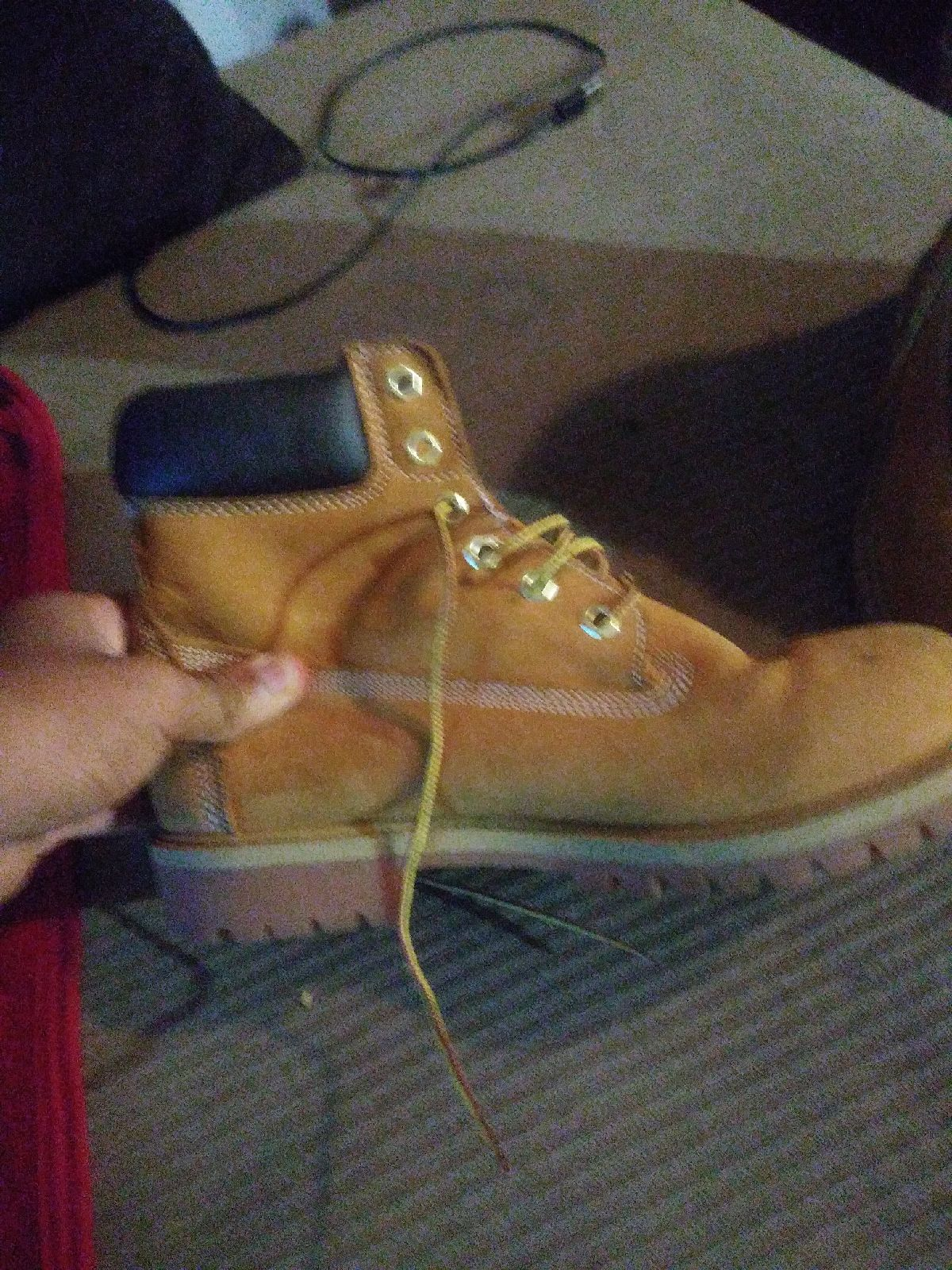 Timberland boots men size 7