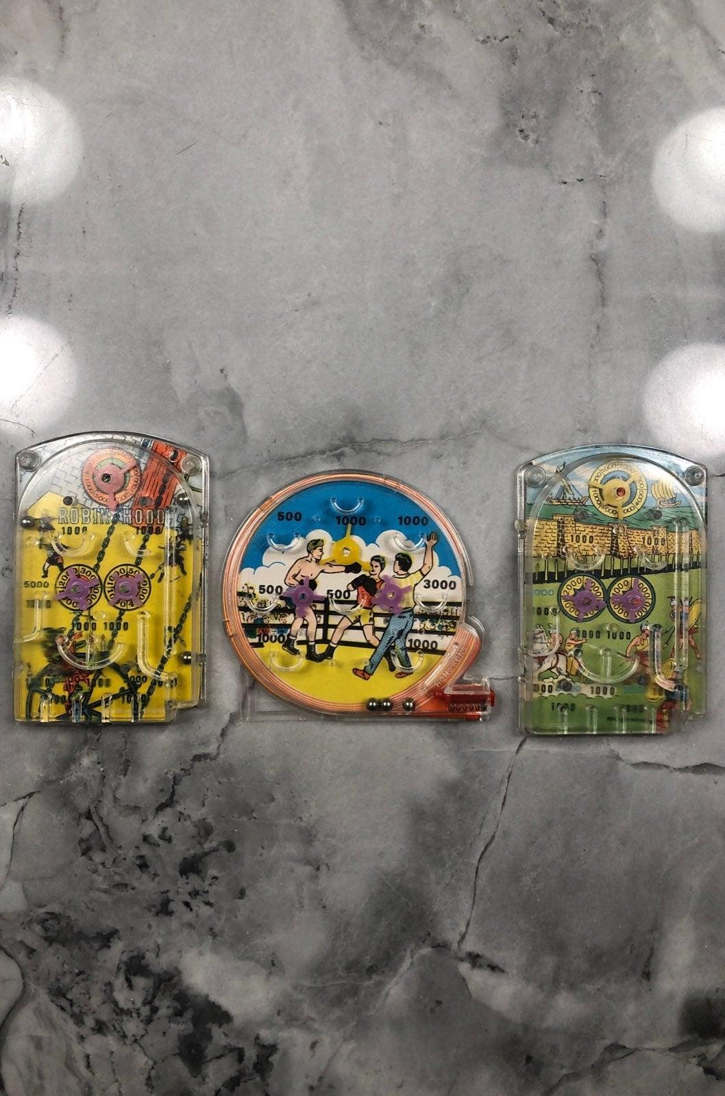 Vintage Handheld Pinball Pachino Games