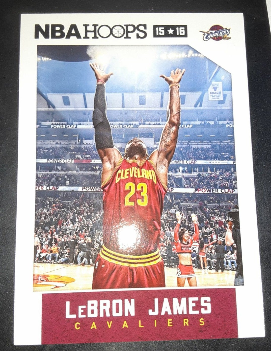 Lebron James NBA Hoops Chalk Toss