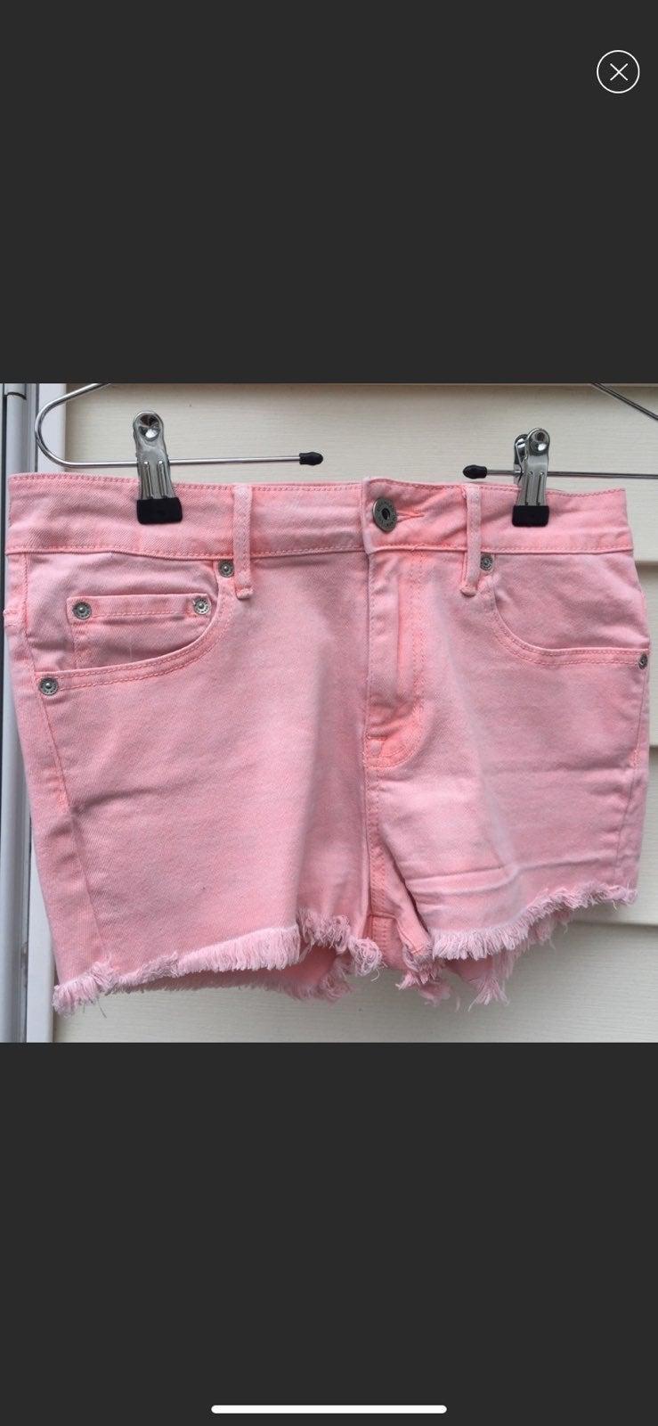 Bullhead coral  denim Shorts
