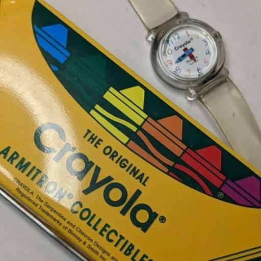 vtg 90s Crayola Armitron Watch anniversa