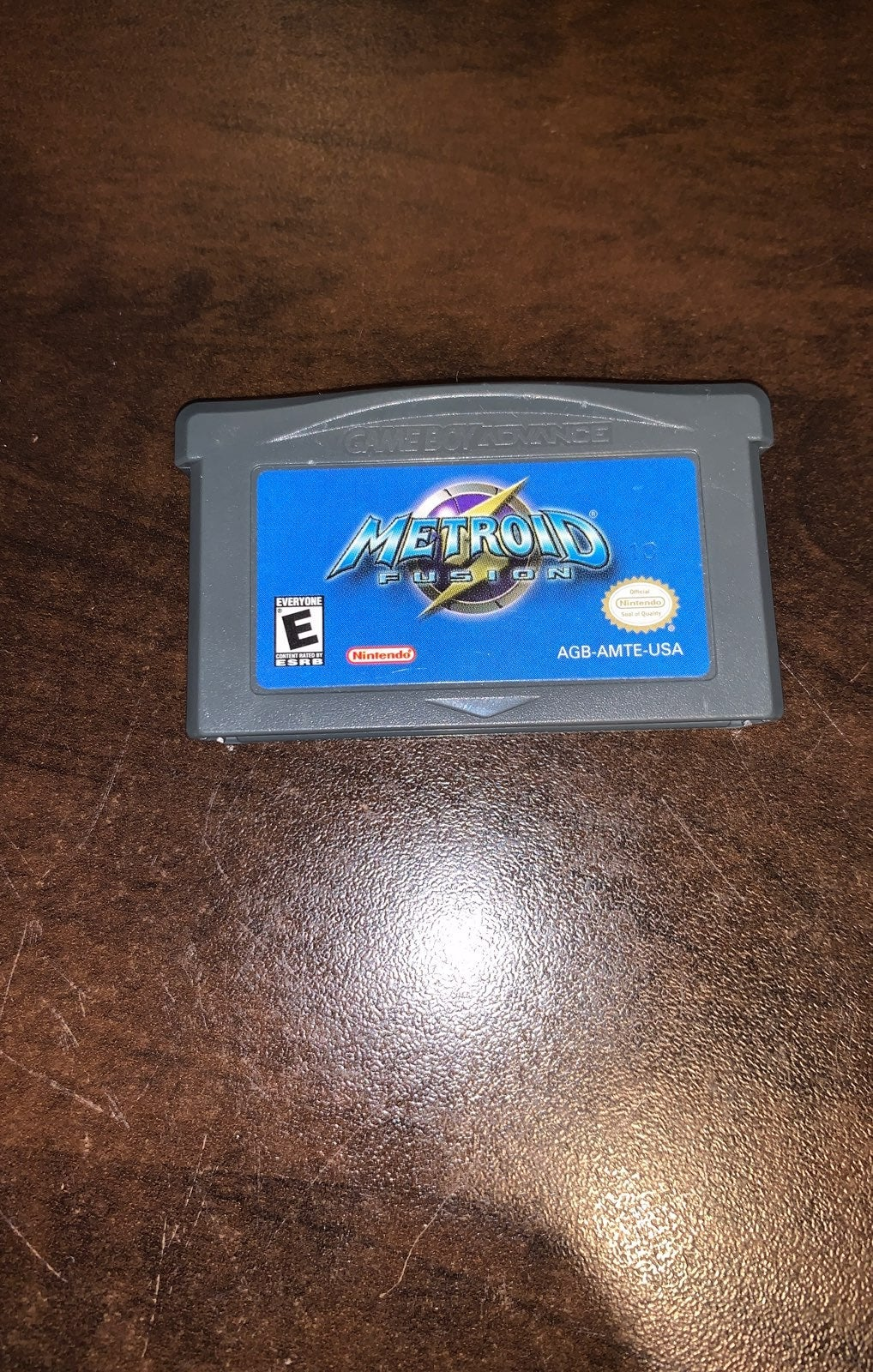 Metroid Fusion Gameboy Advance Authentic