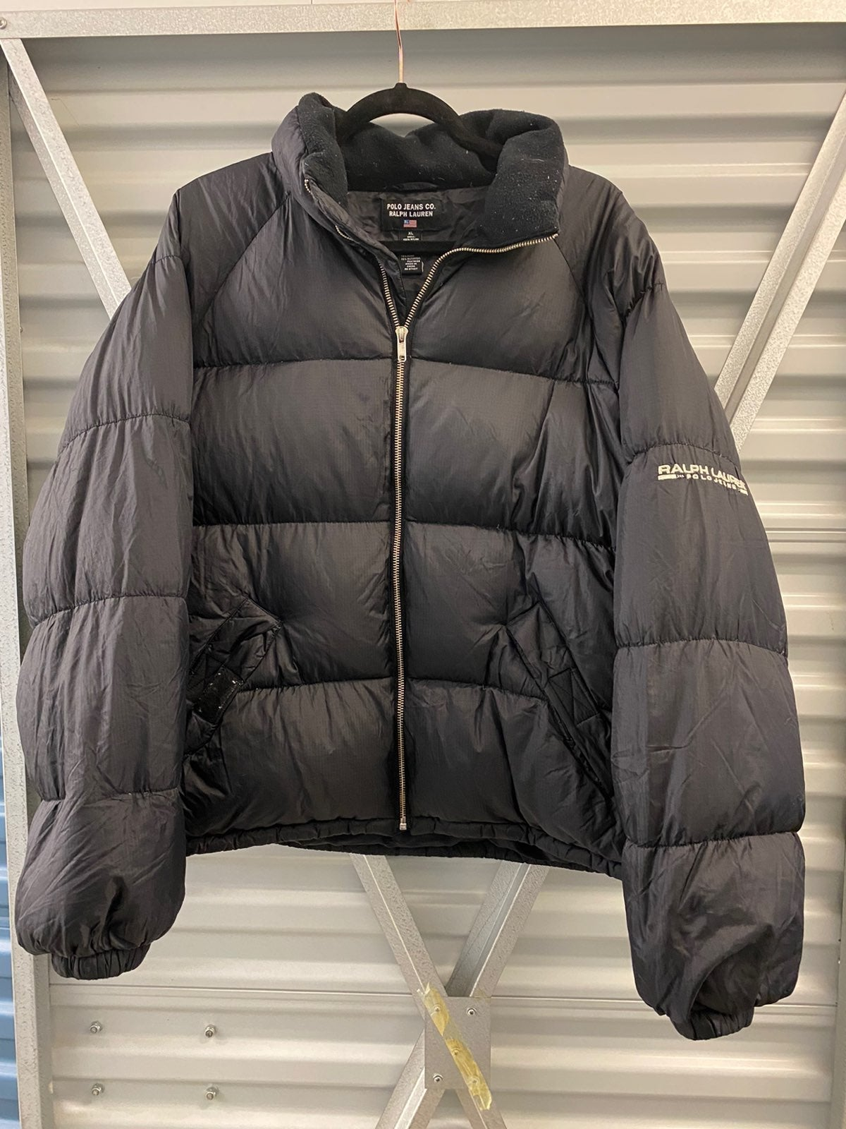 Vintage puffer polo