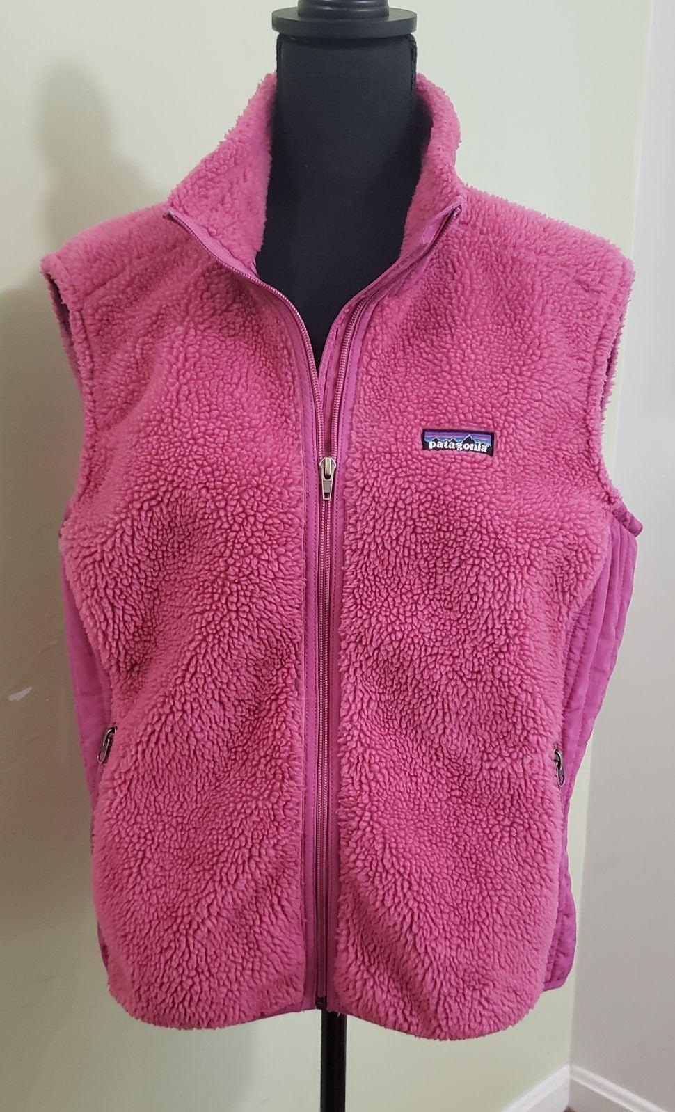Patagonia Polyester Fleece Fuzzy Vest