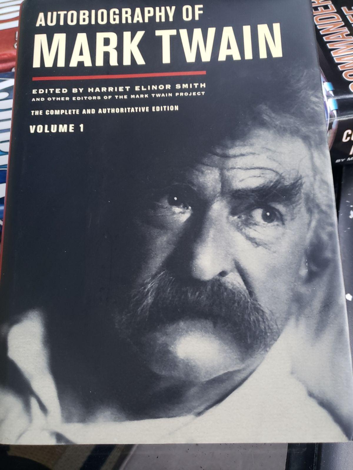 Autobiography of Mark Twain Vol.1