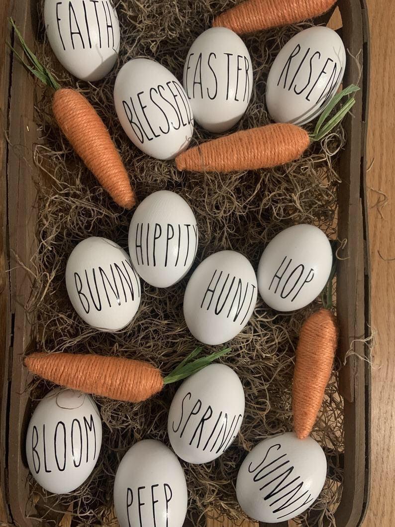 Rae Dunn insp. Easter Eggs