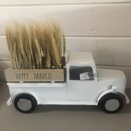 Rae Dunn HAPPY HARVEST Vintage Truck