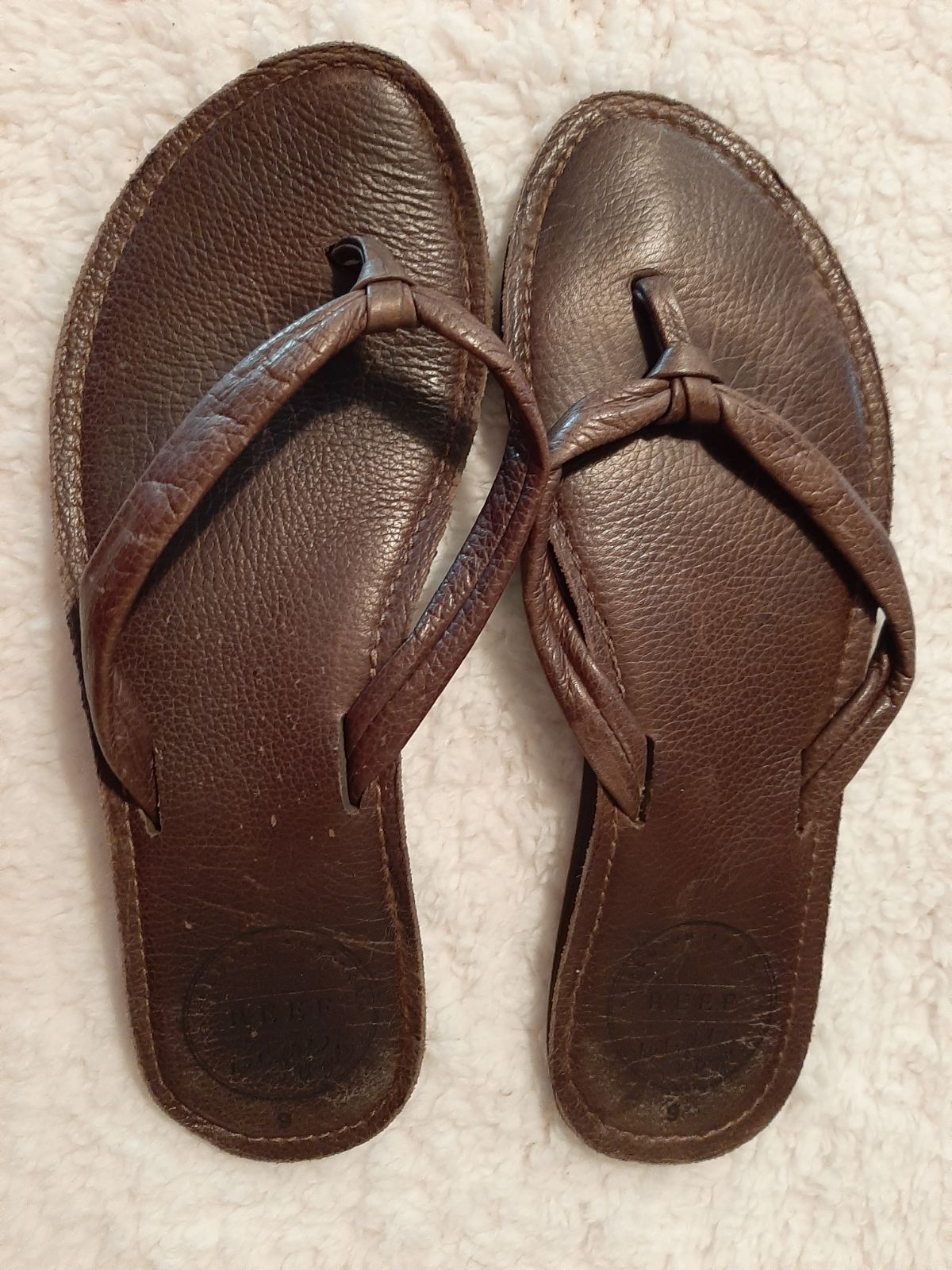 Women Reef Sandals Size 9