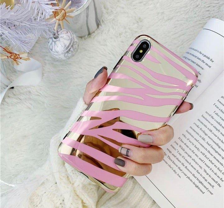 NEW iPhone 7P/8P Zebra Print Case