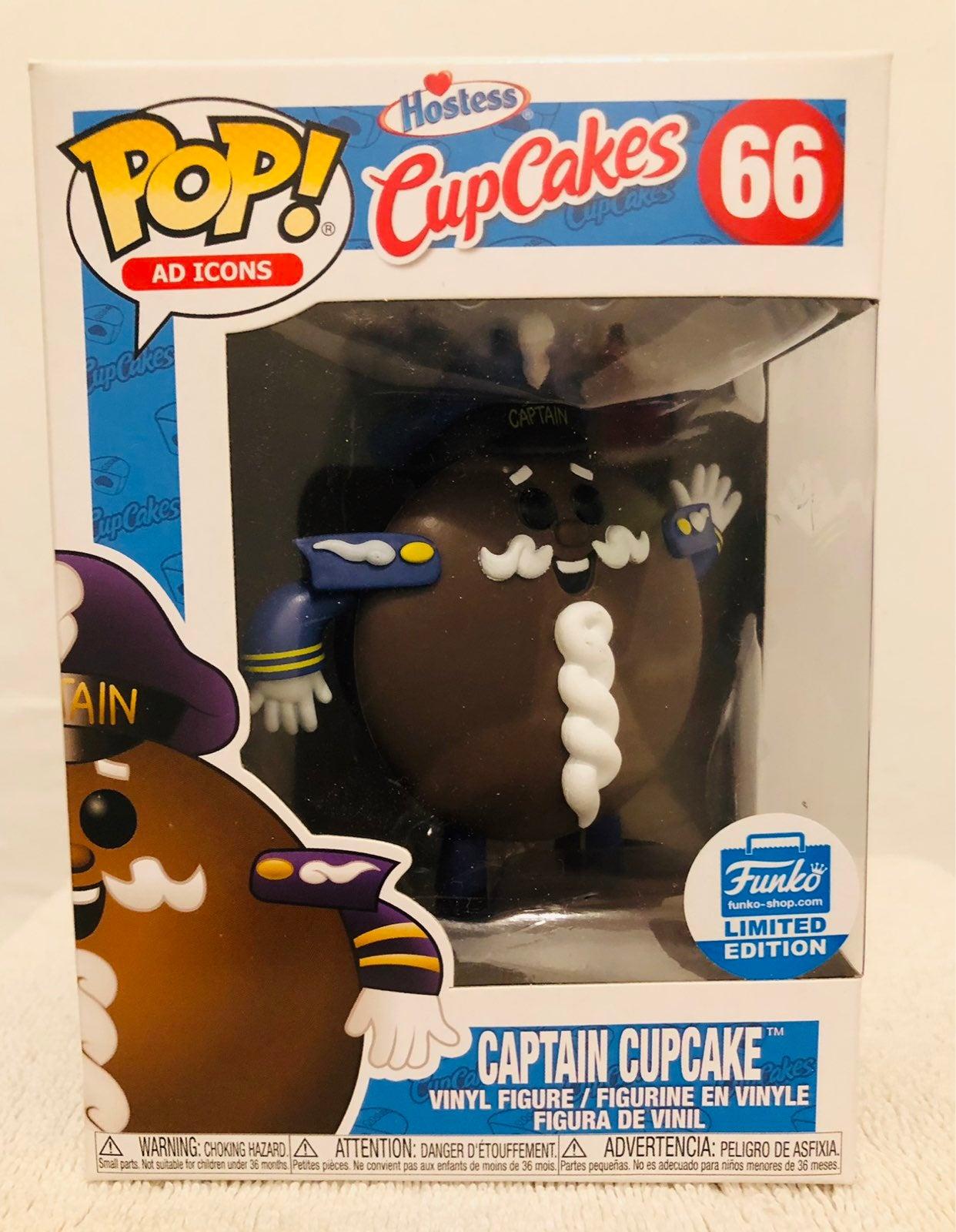 Captain Cupcake - Funko Pop - Shop Exclu