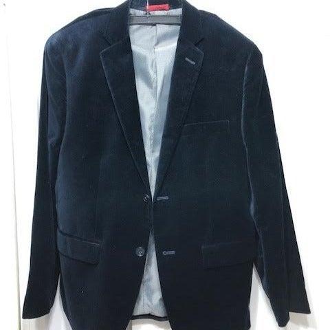 Alfani Navy Suede Jacket