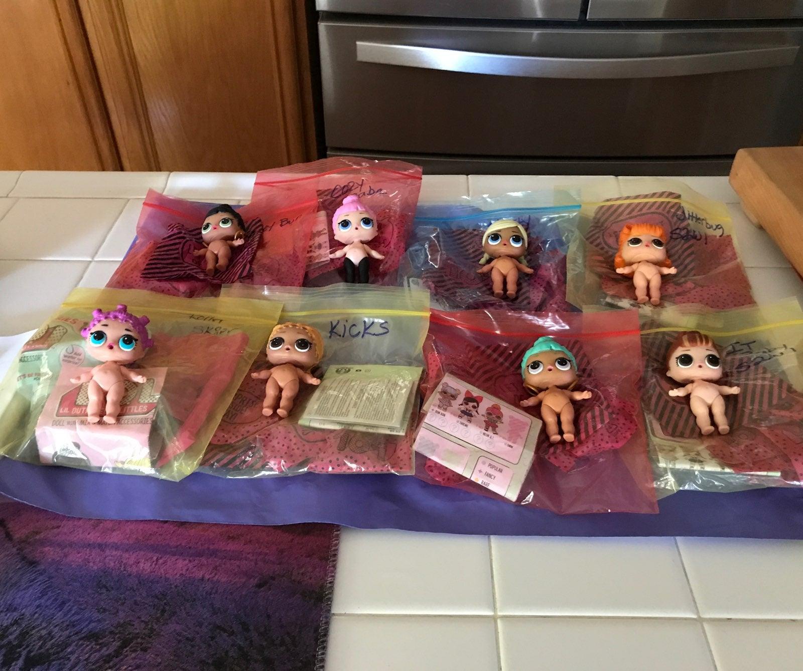 lol surprise dolls custom lot Rina995