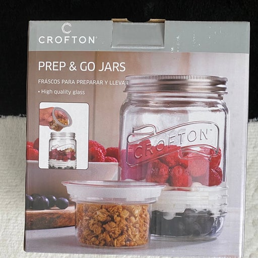 Crofton Prep & Go Mason Jar