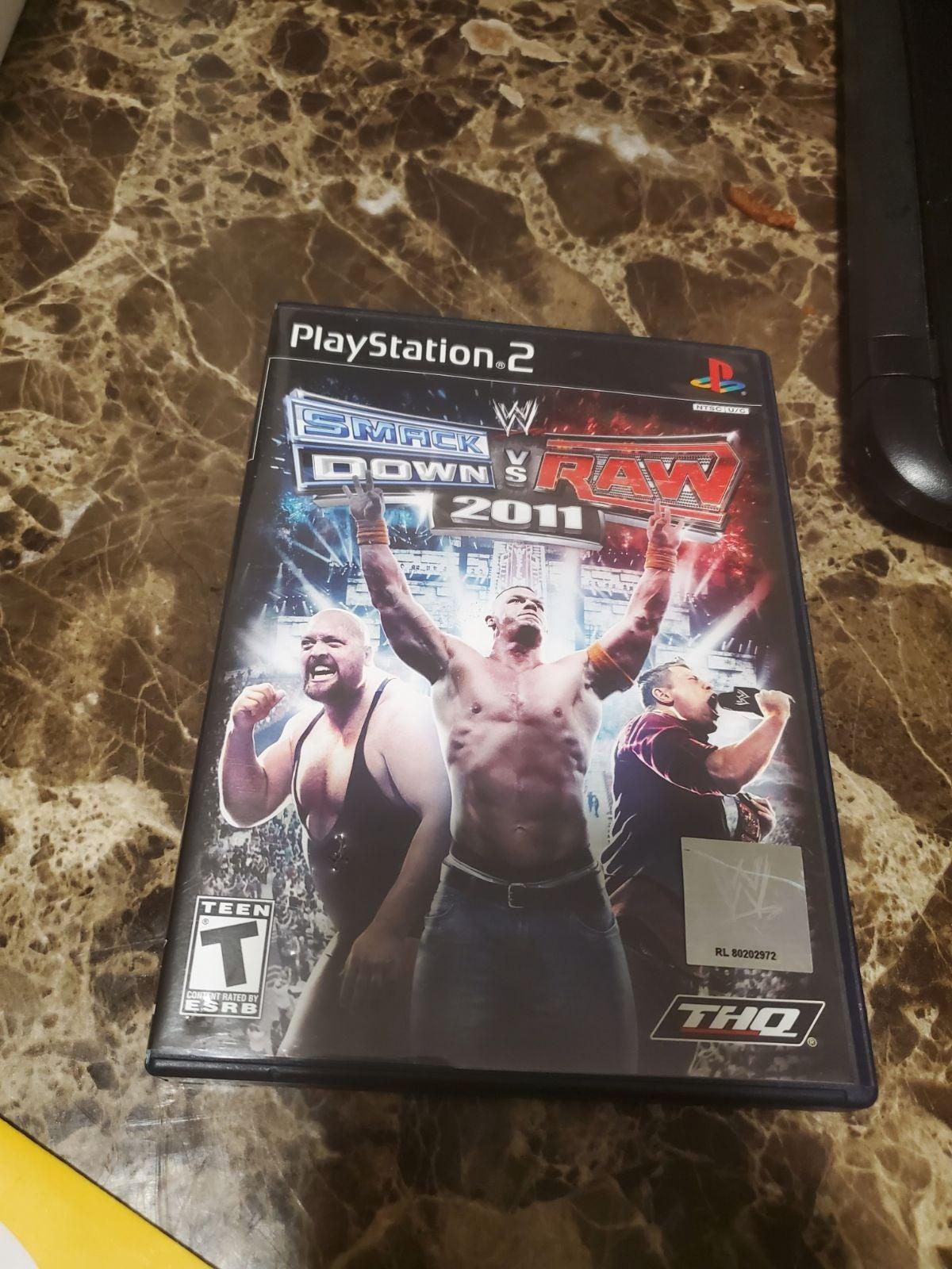 WWE Smackdown Vs. Raw 2011 (PS2)