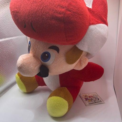 Mario and Red Yoshi Plush Nintendo Plush