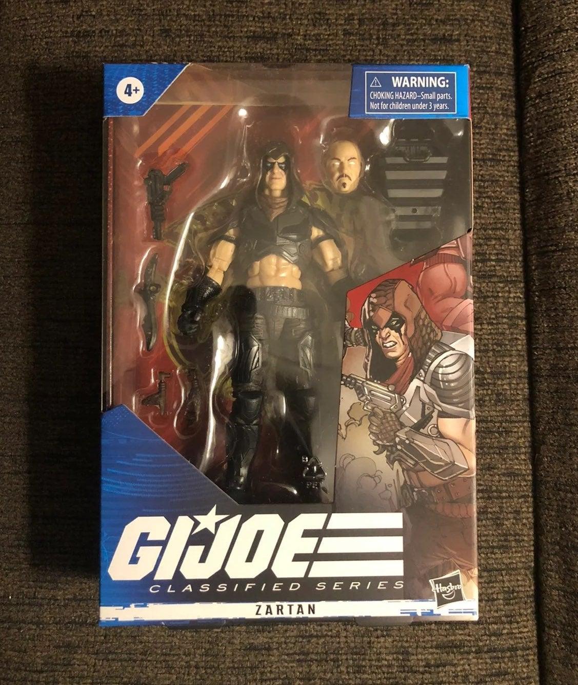 G.I. Joe Classified Zartan