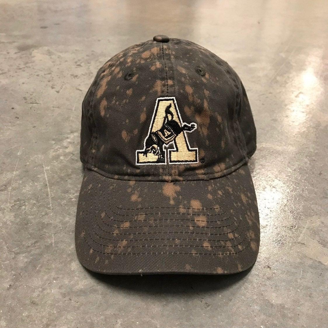 Custom Bleach Army University Dad cap