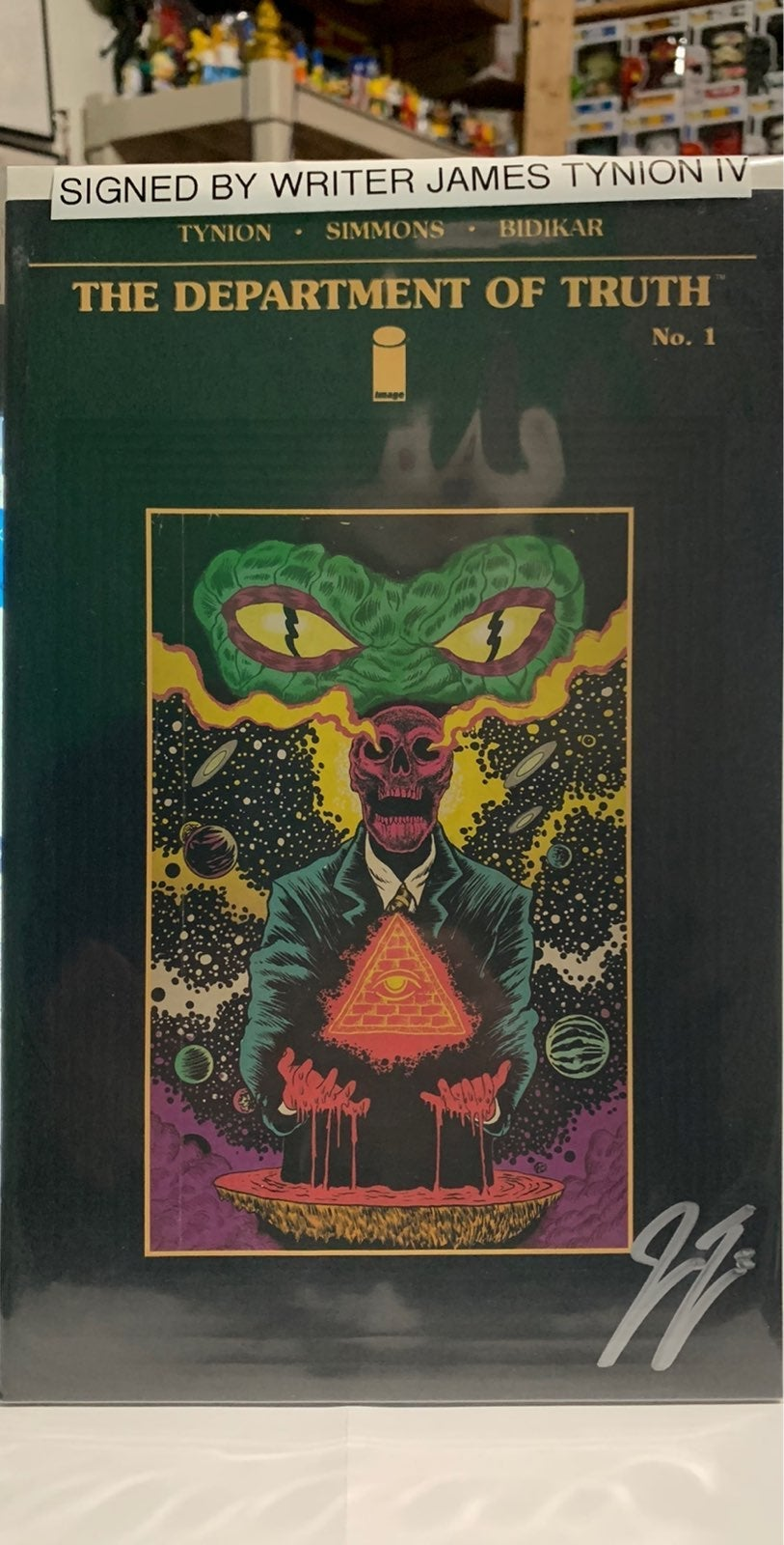 Department of Truth #1 Third Eye Signed