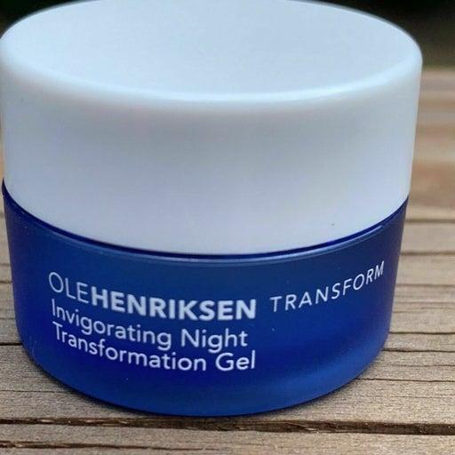 OLE HENRIKSEN Invigorating Night Transform Gel .25 oz - Travel Size NWOB