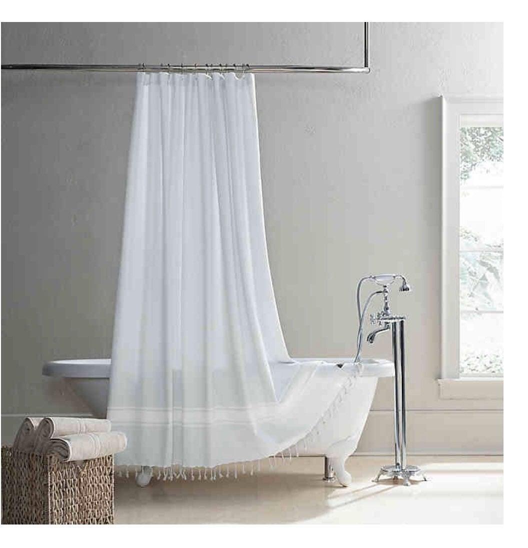 Ugg costa mesa shower curtain gray 72x72
