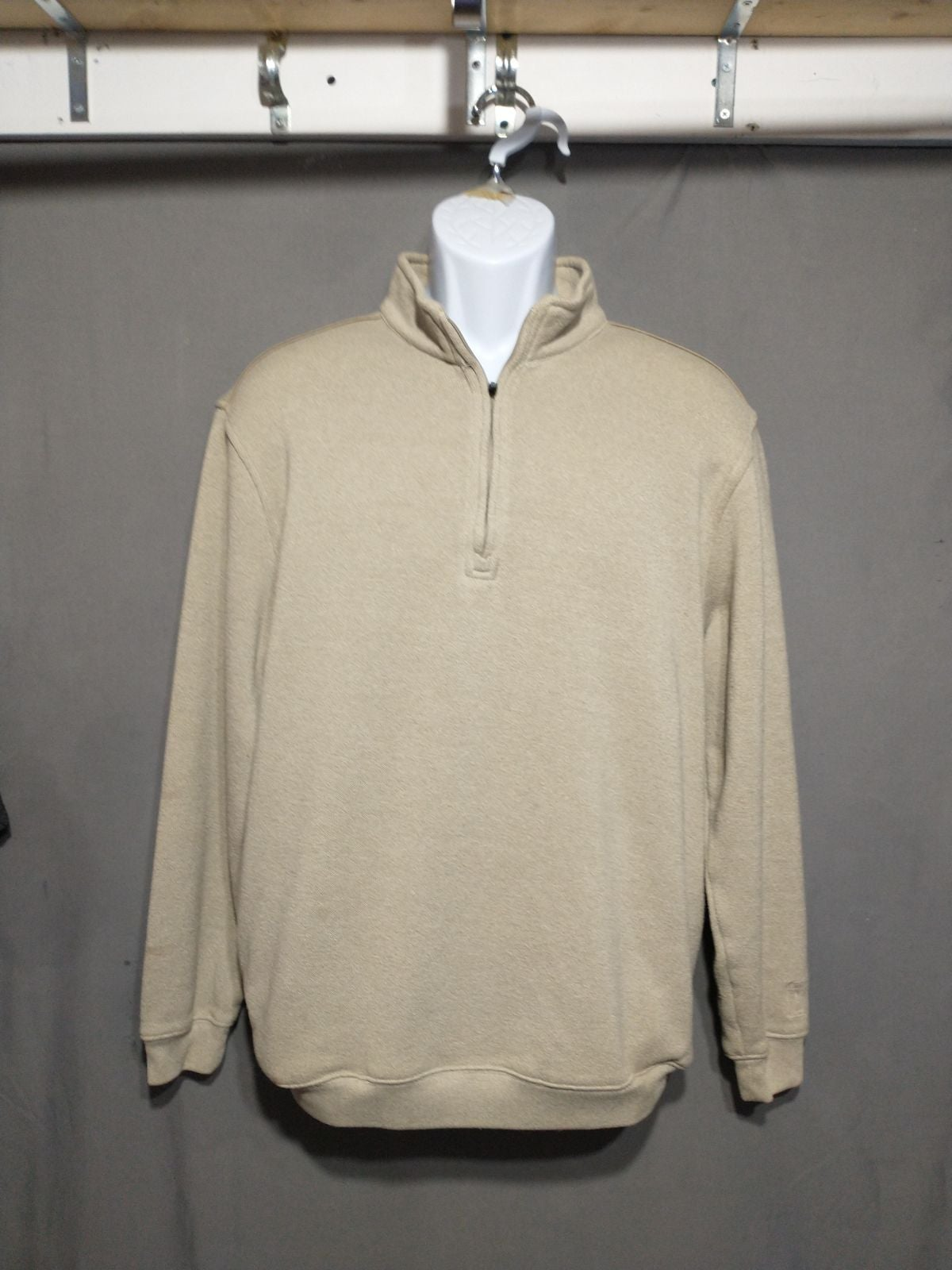 PGA tour quarter zip pullover sweater la