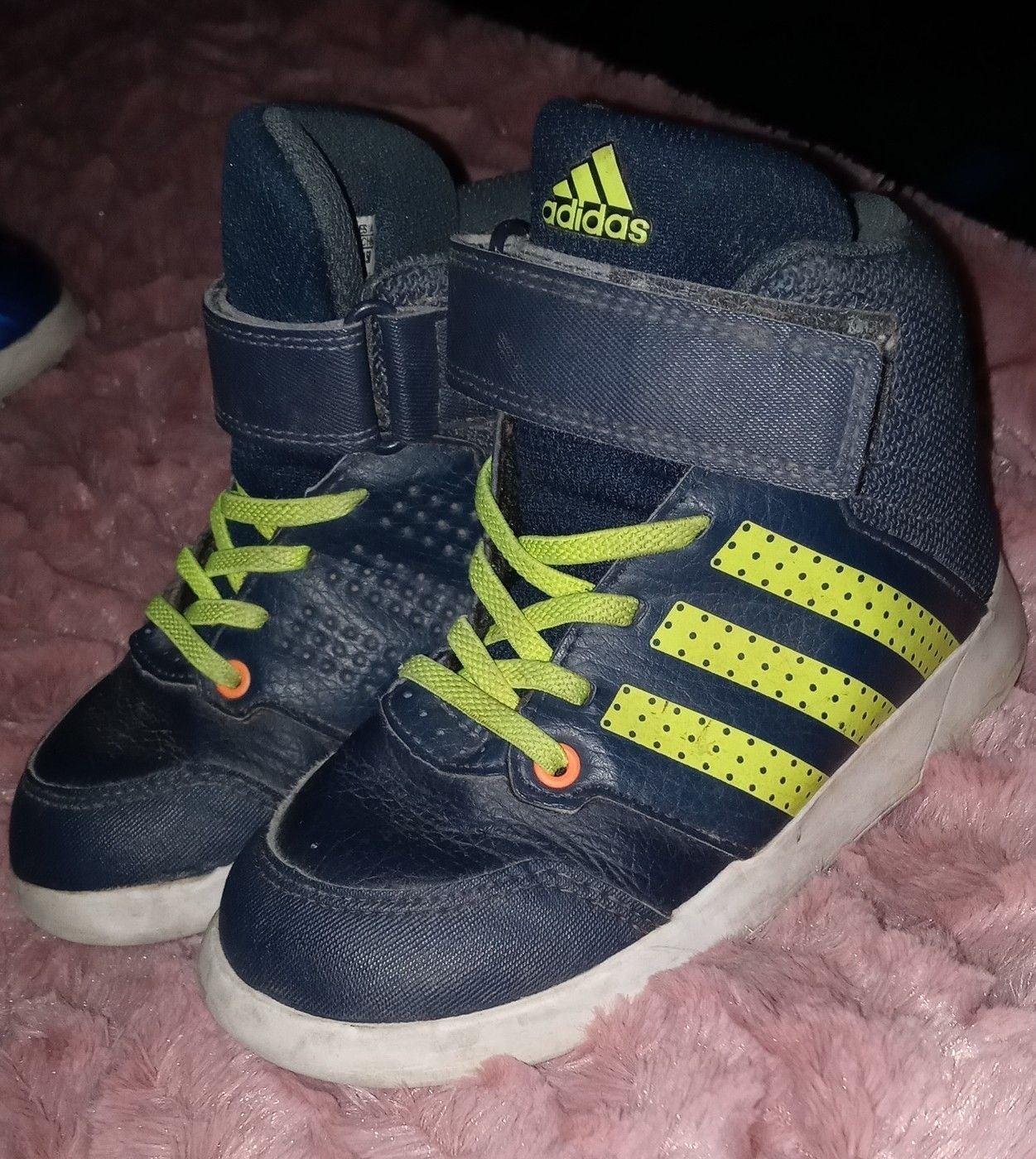 Adidas high top sneakers
