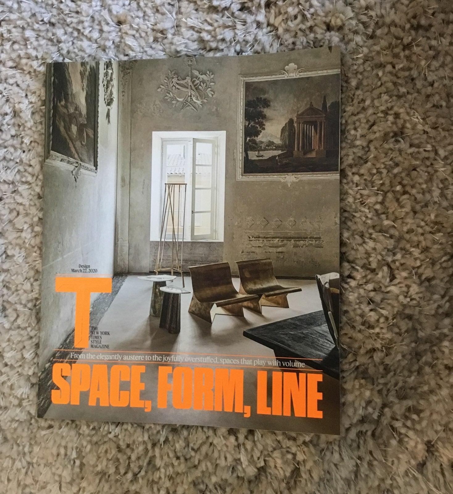 T NYT Style Magazine Design 3/22/20
