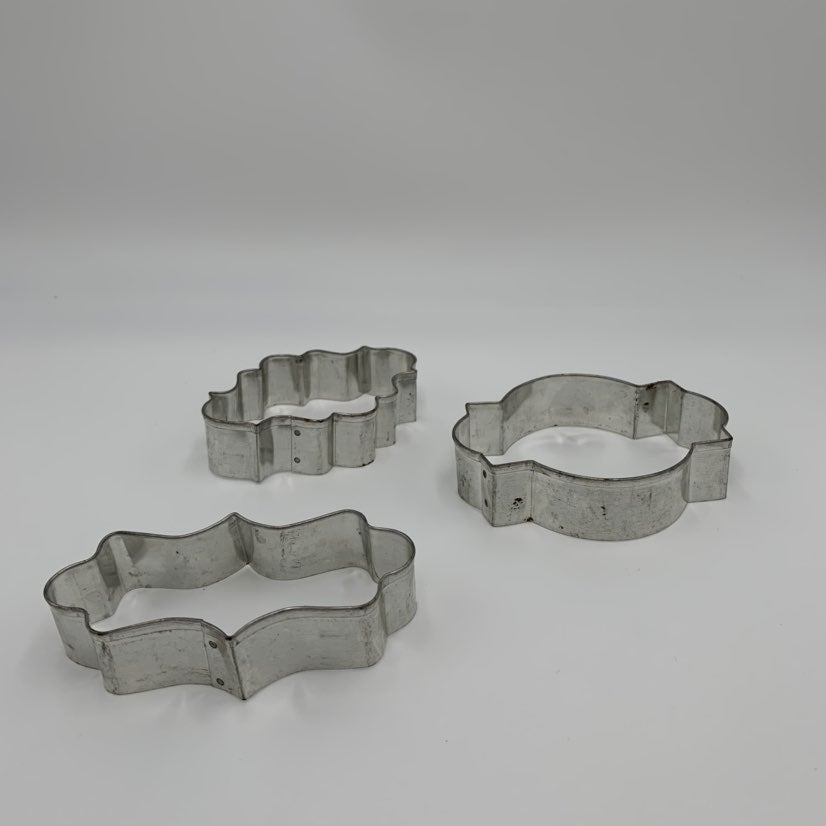 set of 3 cookie cutters