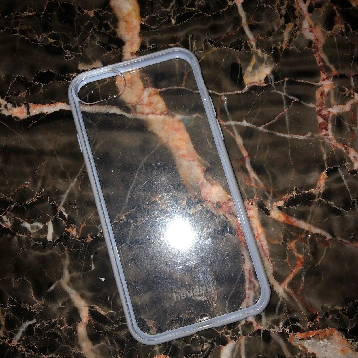 clear & blue iphone 6/7/8 c