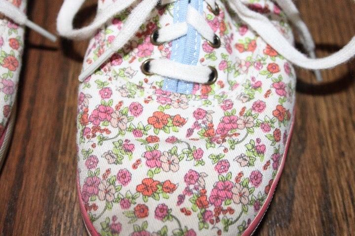 Keds floral pattern sneakers