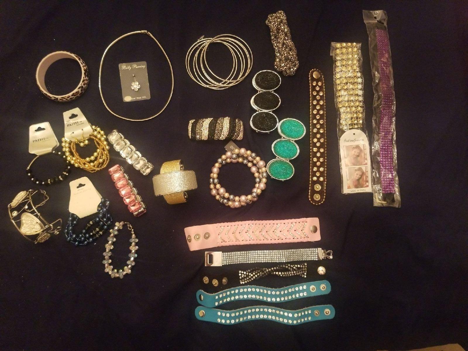 26-Pieces Large Lot of Bracelets